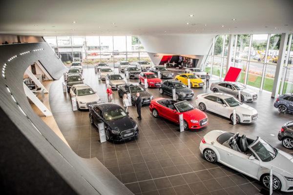 Poole Audi Showroom