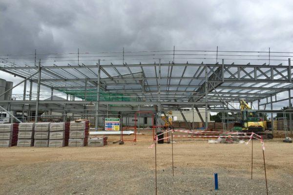 Poole Audi Construction Phase