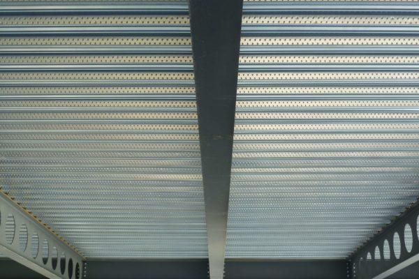 ComFlor 60 composite metal floor decking by Composite Profiles on South Walks House, West Dorset District Council Offices (WDDC), Dorchester