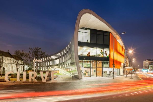 The Curve Slough. Image credit Slough Urban Renewal. ComFlor® E60 composite metal floor decking by Composite Profiles.