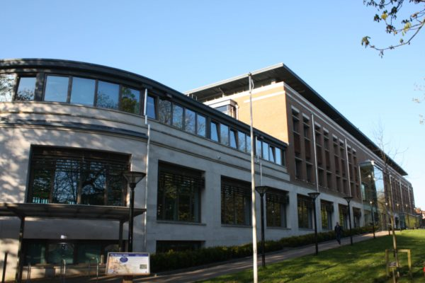 Use of ComFlor 60 Composite Metal Decking on South Walks House, West Dorset District Council Offices (WDDC), Dorchester