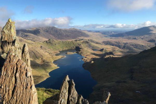 View of Snowdon Lake