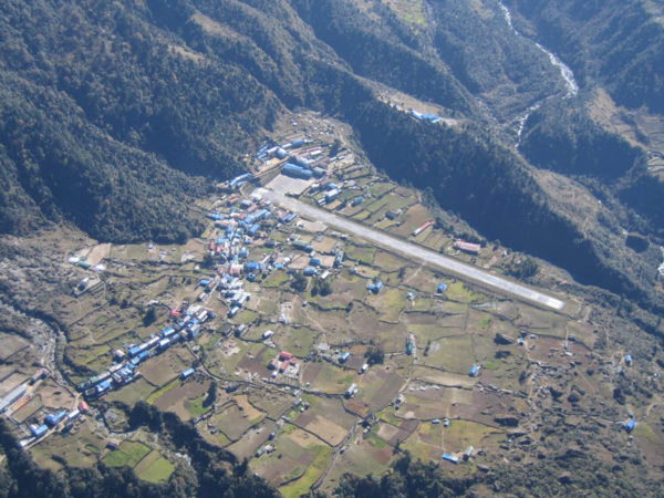Lukla Airport one of the most dangerous in the world