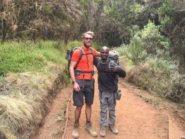Climbing Mount Kilimanjaro and raising funds for Marie Curie