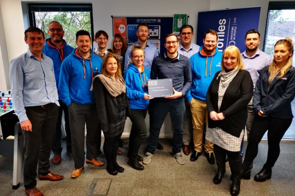 Invest in People Platinum Award presented to Composite Profiles team