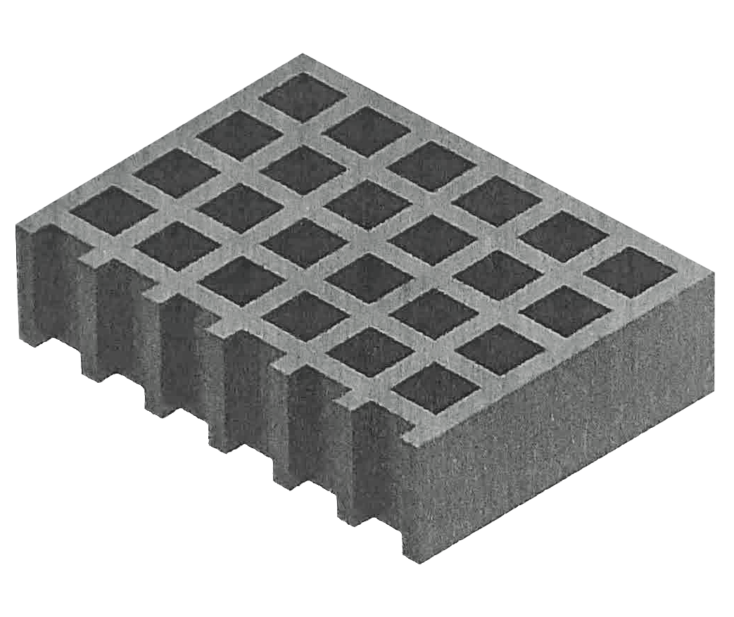 wHOLE.Protect anti-slip GRP Grating